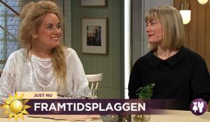 Sofia Hedman Maja Gunn Nyhetsmorgon