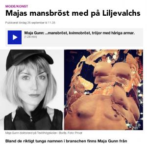 Maja Gunn SR Utopian Bodies Liljevalchs